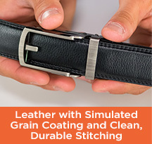 Comfort click genuine leather