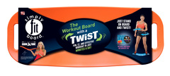 Simplyfitboard mockup orange