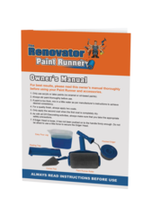 Paint runner   owner's manual