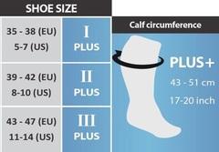 Sankom socks size chart
