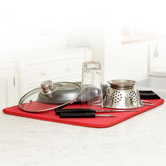 Deluxe dish drying mat l 6