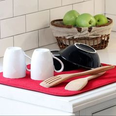 Deluxe dish drying mat l 7