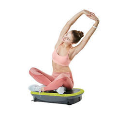 Rock n fit vibration plate trainer green with  1