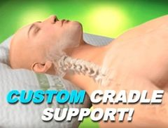 Custom cradle support