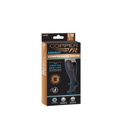 Copper fit commpression socks black