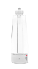 White bottle with cap