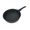 Smokeless grill pan